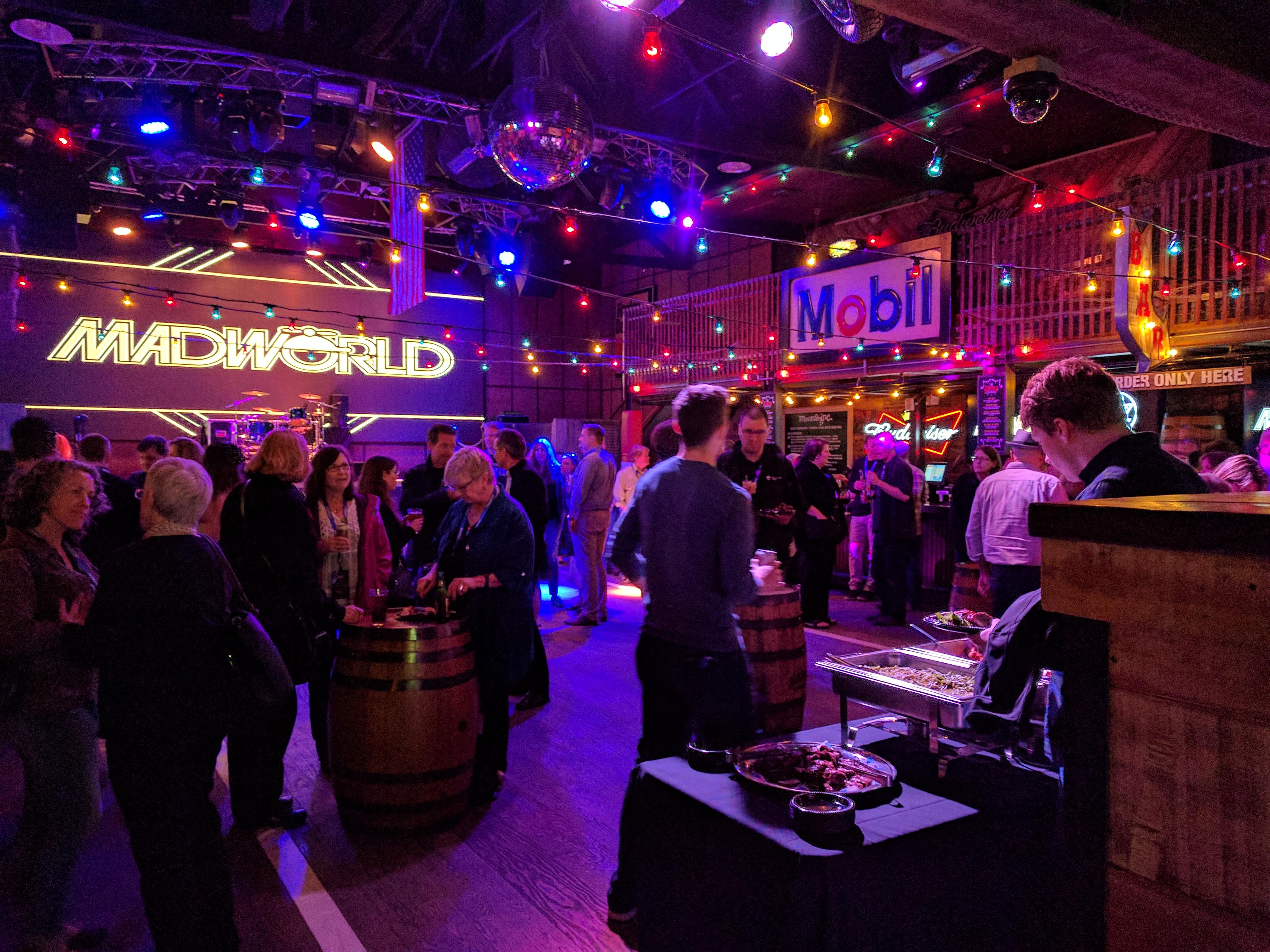 MadWorld 2017 evening event