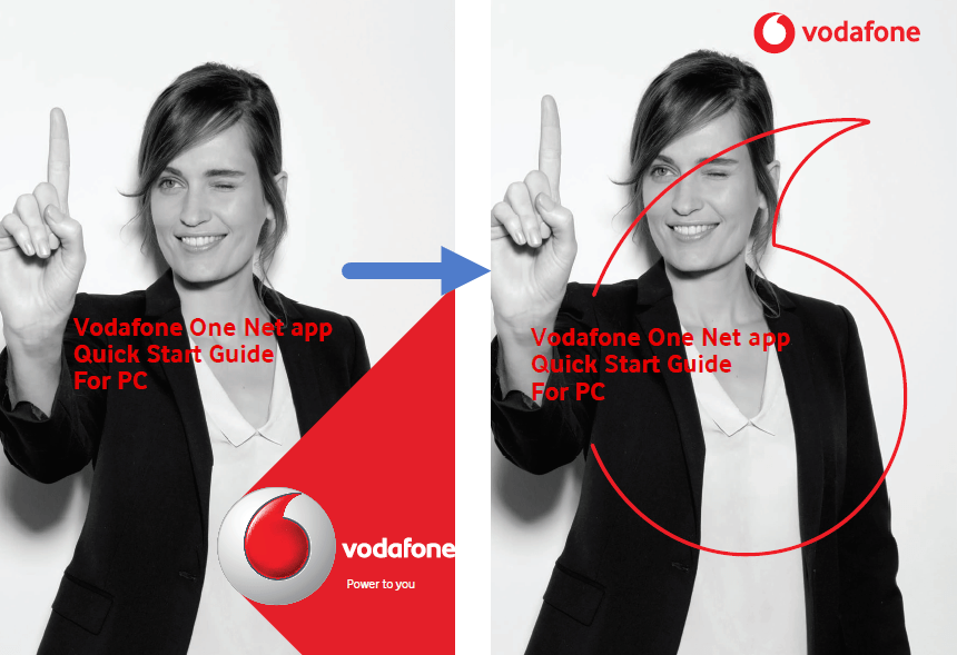 rebranding product documentation Vodafone