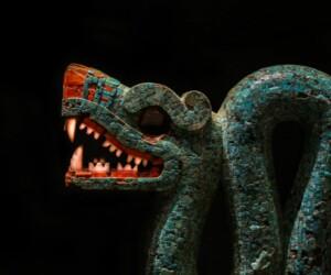 Statue of Quetzalcoatl